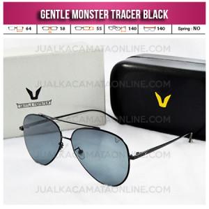 Jual Kacamata Gentle Monster Tracer Aviator Black Jual Kacamata Wanita Terbaru