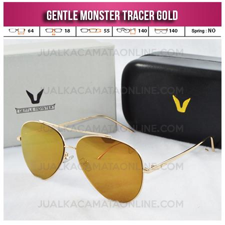 Kacamata Gentle Monster Tracer Aviator Gold Jual Model Kacamata Wanita Terbaru