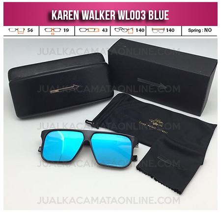 Model Kacamata Karen Walker Terbaru WL003 Blue