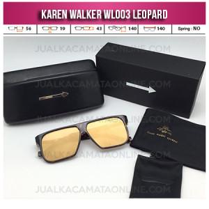 Jual Kacamata Karen Walker WL003 Leopard