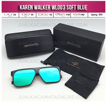 Jual Kacamata Karen Walker WL003 Soft Blue
