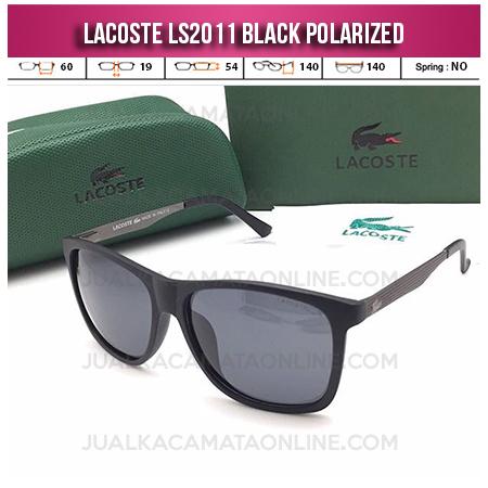 Grosir Kacamata Lacoste LS2011 Polarized Black