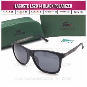 Jual Kacamata Terbaru Lacoste LS2014 Polarized Black