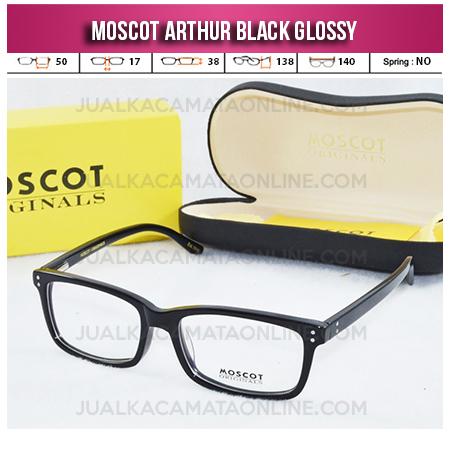 Model Kacamata Moscot Terbaru Arthur Black Glossy