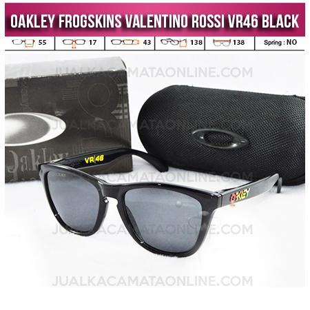 Jual Kacamata Oakley Frogskins Valentino Rossi VR46 Black