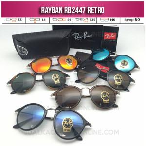 Jual Kacamata Rayban Retro RB2447 Terbaru