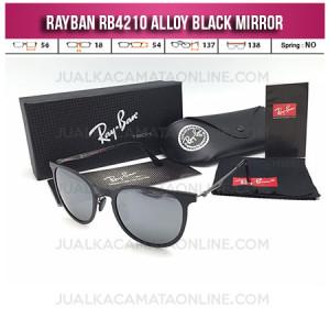 Jual Kacamata Rayban Murah Rb4210 Black Mirror