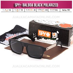 Jual Kacamata Spy Balboa Black Terbaru