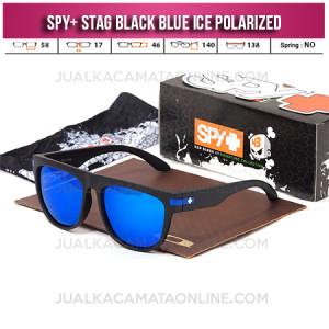Jual Kacamata Spy Stag Black Blue Polarized Terbaru