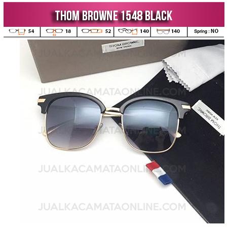 Model Kacamata Thom Browne Terbaru 1548 Black