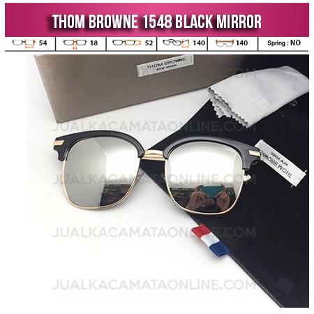 Harga Kacamata Thom Browne Terbaru 1548 Black Mirror