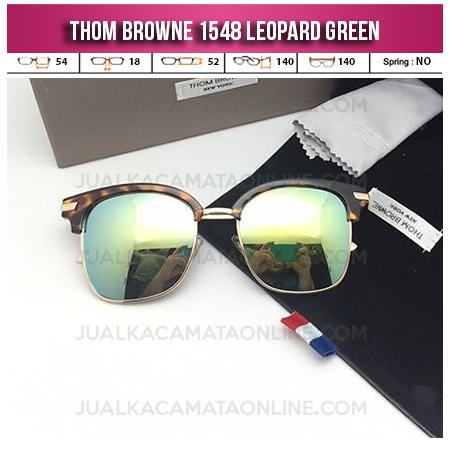 Jual Kacamata Thom Browne Terbaru 1548 Leopard Green