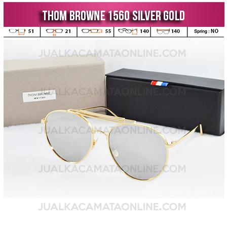 Model Kacamata Thom Browne 1560 Silver Gold Jual Kacamata Terbaru