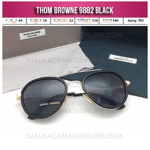 Harga Kacamata Terbaru Thom Browne 9882 Black Jual Kacamata Terbaru