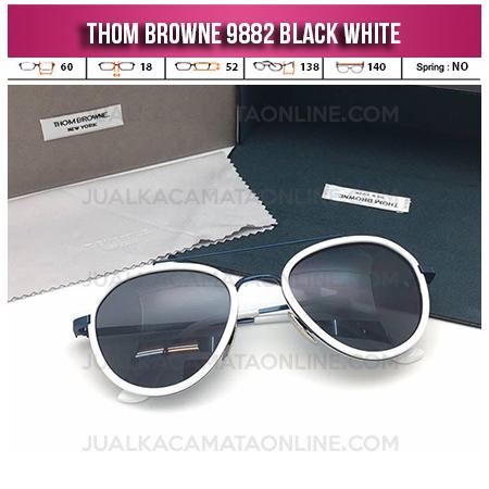 Jual Kacamata Online Thom Browne 9882 Black White Jual Kacamata Terbaru