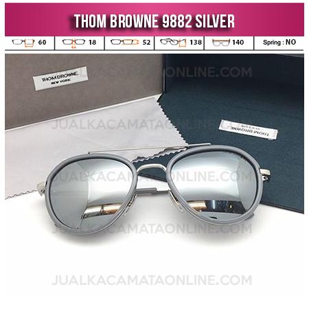 Kacamata Thom Browne 9882 Silver Jual Kacamata Terbaru