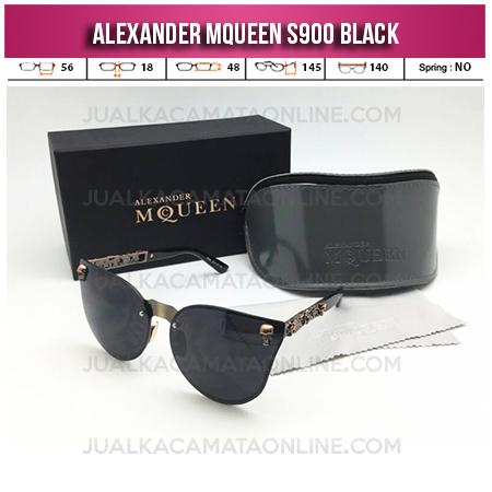 Harga Kacamata Wanita Terbaru Alexander Mqueen S900 Black