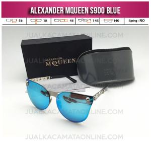 Toko Kacamata Wanita Terbaru Alexander Mqueen S900 Blue