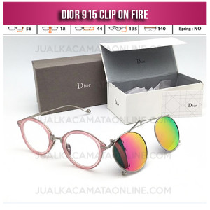 Harga Kacamata Clip On Dior 915 Fire Double Lens