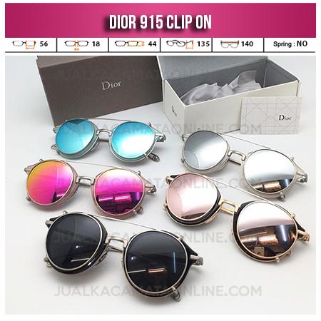 Jual Kacamata Clip On Dior 915 Double Lens