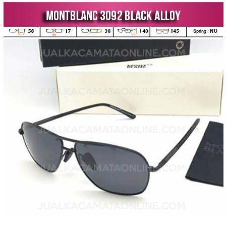 Model Kacamata Mont Blanc Terbaru 3092 Black