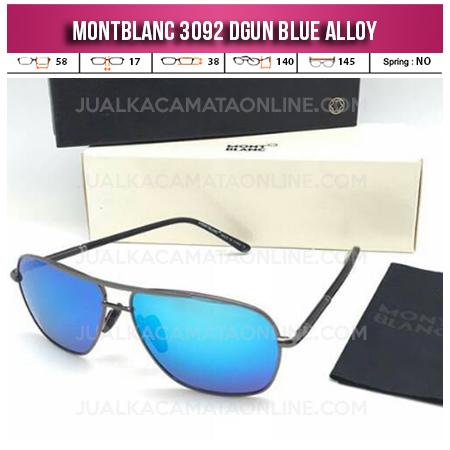 Harga Kacamata Mont Blanc 3092 Dgun Blue