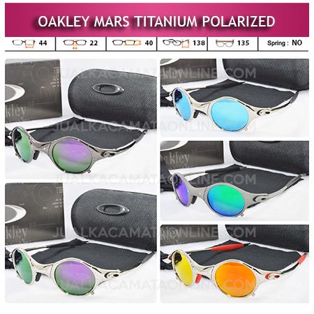 Jual Kacamata Oakley Mars Titanium Polarized Terbaru
