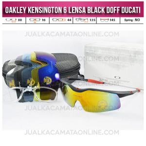 Jual Kacamata Oakley Terbaru Kensington Black Doff Ducati