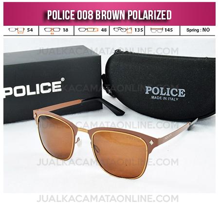 Model Kacamata Police Terbaru 008 Brown