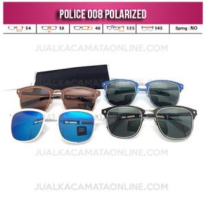 Jual Kacamata Police Terbaru 008 Polarized