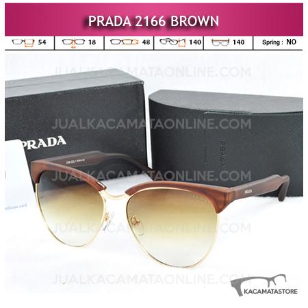 Model Kacamata Prada 2166 Brown