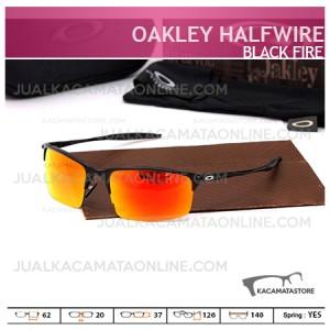 Kacamata Pria Oakley Halfwire Black Fire