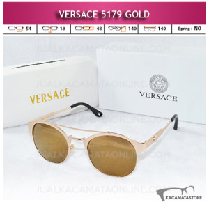 Model Kacamata Versace 5179 Gold