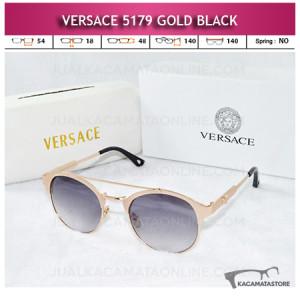 Toko Kacamata Versace 5179 Gold Black