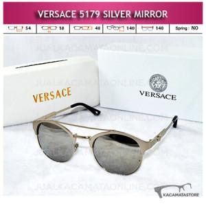 Model Kacamata Terbaru Versace 5179 Silver Mirror