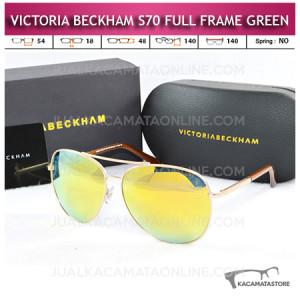 Model Kacamata Victoria Beckham S70 Full Frame Green