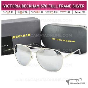 Jual Kacamata Victoria Beckham S70 Full Frame Silver
