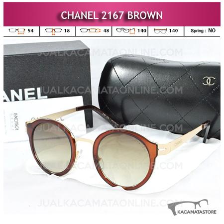 Toko Kacamata Chanel Terbaru 2167 Brown