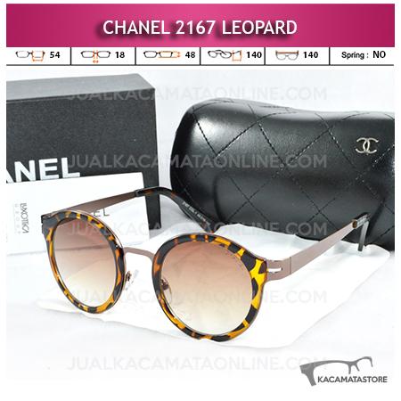 Jual Kacamata Chanel Terbaru 2167 Leopard