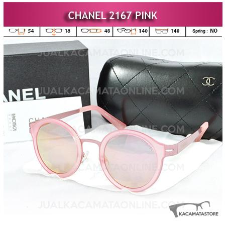 Jual Kacamata Chanel Terbaru 2167 Pink