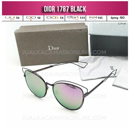 Harga Kacamata Wanita Dior 1787 Black