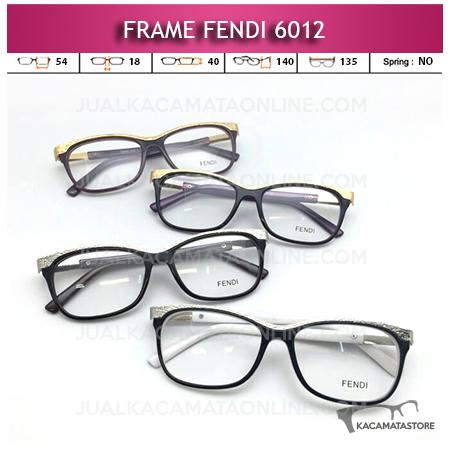 Jual Frame Kacamata Fendi 6012 Terbaru