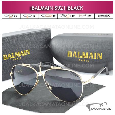 Jual Kacamata Artis Balmain S921 Black