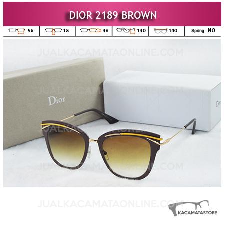 Grosir Kacamata Artis Dior 2189 Brown