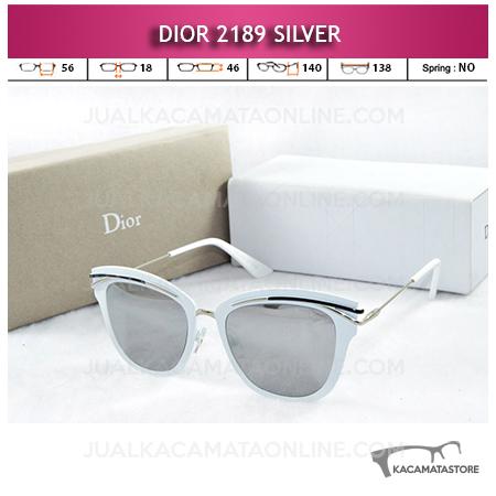 Jual Kacamata Artis Dior 2189 Silver