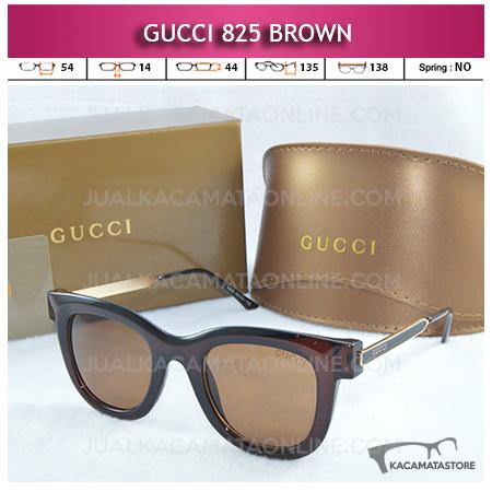 Model Kacamata Artis Gucci 825 Brown