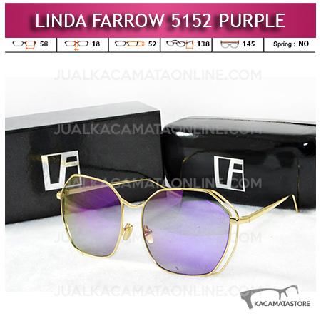 Harga Kacamata Artis Linda Farrow 5152 Purple