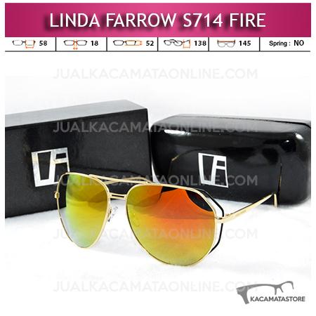 Model Kacamata Artis Linda Farrow S714 Fire