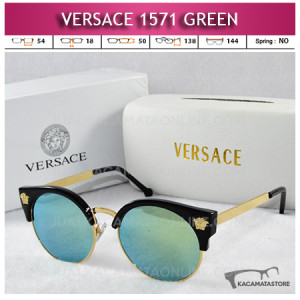 Jual Kacamata Artis Terbaru Versace 1571 Green