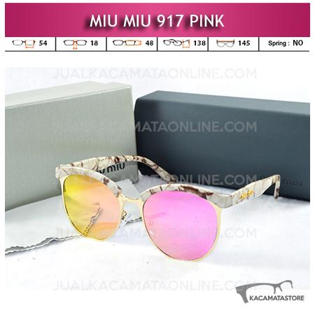 Jual Kacamata Miu Miu 917 Pink